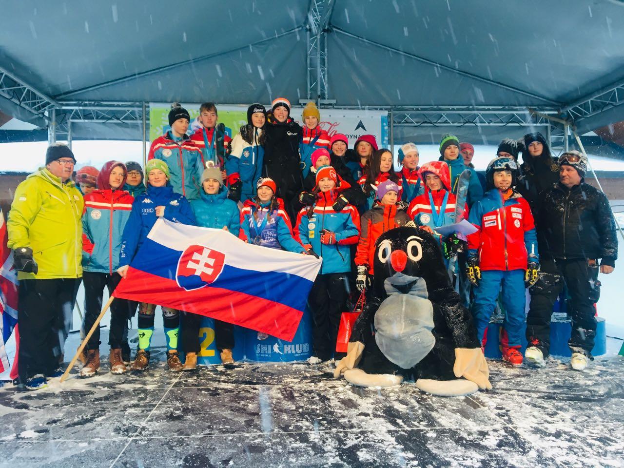 Veľká slovenská lyžiarska nádej je študentkou našej školy........